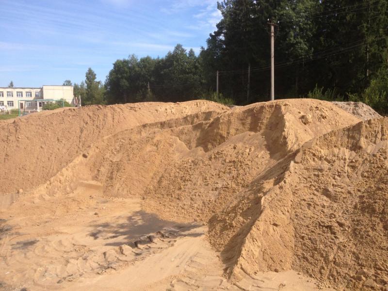 намывной песок с доставкой