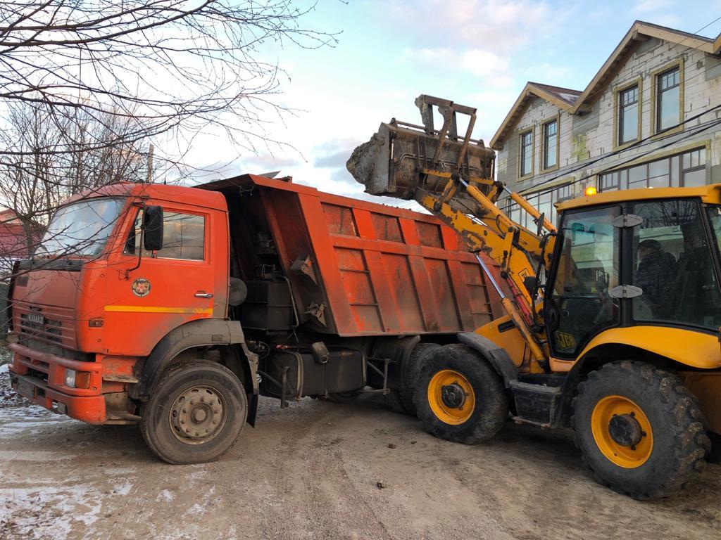 уборка снега в СПб