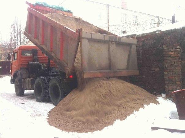 Доставка песка СПб