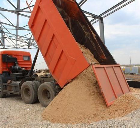 доставка песка ЛО
