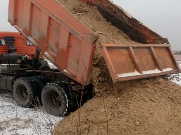 машина песка с доставкой по ЛО