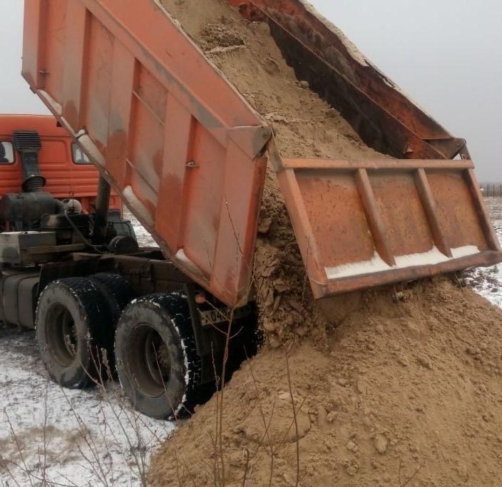 машина песка в СПб