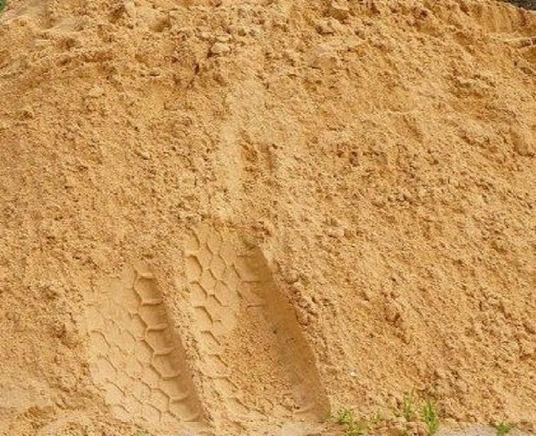 песок намывной с доставкой машиной