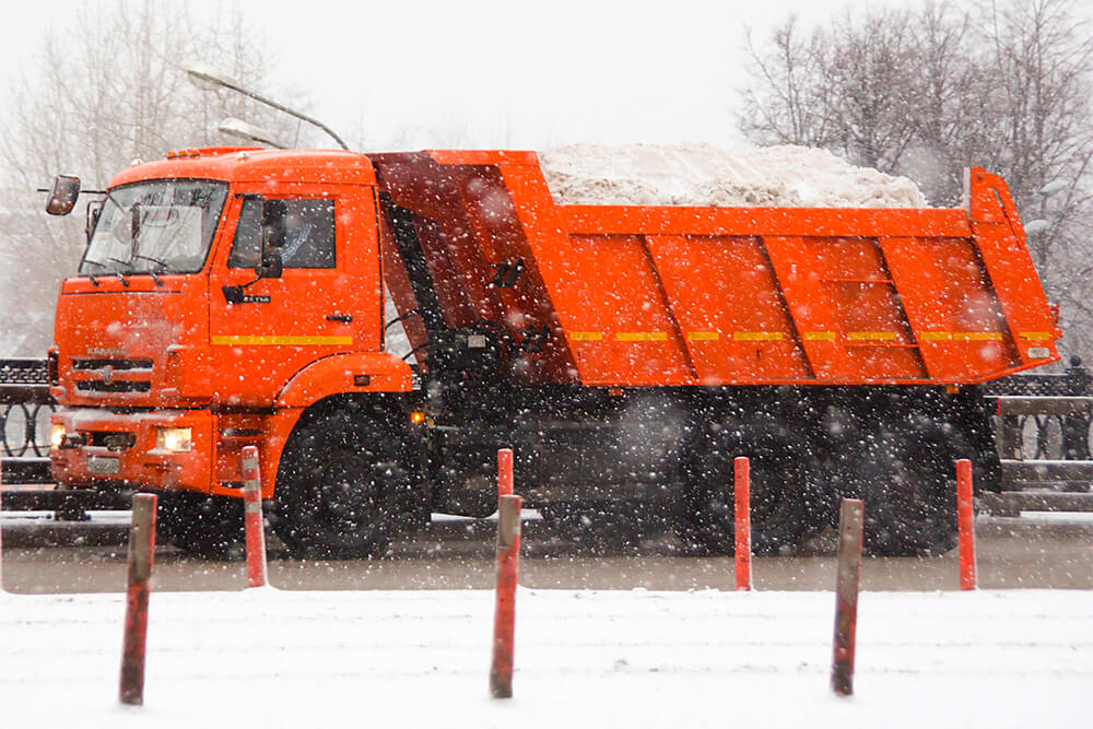 Вывоз снега СПБ