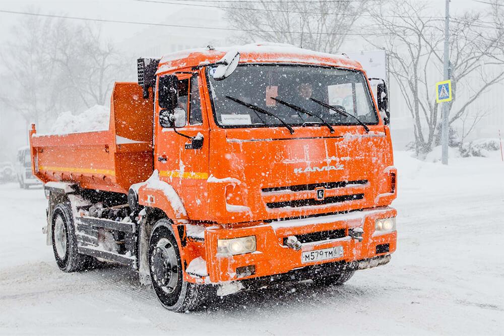 Вывоз снега Ленобласть
