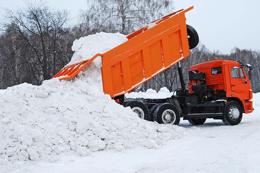 Заказать вывоз снега СПБ